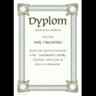 Dyplom konkursowy uniwersalny A4 wz.3