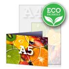 ECO Zaproszenie A5 składane wz.2