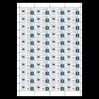 Etykiety samoprzylepne, FOLIOWE (prostokątne)