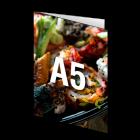 Folder A5, 4-stronicowy, kolor