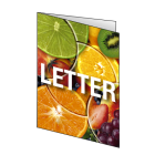 Folder LETTER, 4-stronicowy, kolor