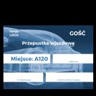 Identyfikator wjazdu (przepustka) 105x148 (A6)