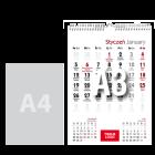 Kalendarz wiszący A3, 12+1 stron