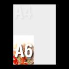 Kartka Wielkanocna A6 kolor dwustronnie