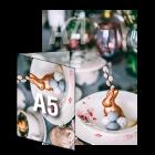 Kartka Wielkanocna A5, składana wz. 1