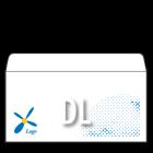 Koperta DL biała + personalizacja