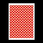 Małe naklejki papierowe - dowolny kształt