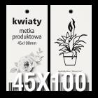 Metka produktowa EKO 45x100