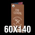 Metka produktowa składana 60x140