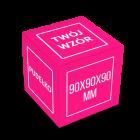 Pudełko sześcian 90x90x90 mm