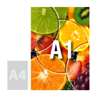 Tablica (plansza) A1, pianka kartonowa