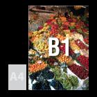 Tablica (plansza) B1, pianka kartonowa