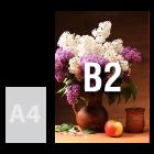 Tablica (plansza) B2, spienione PCV
