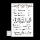 Tablica suchościeralna z własnym nadrukiem 120x180