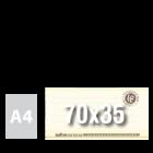 Tablica/Plansza BILET 70x35