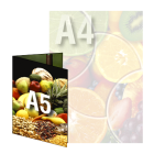 Ulotka A4/A5 4+4 (kolor dwustronnie)