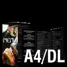 Ulotka A4/DL 4+4 (kolor dwustronnie)