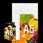 Ulotka A5/A6 4+4 (kolor dwustronnie)