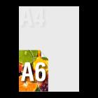 Ulotka A6 kolor jednostronnie