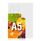Ulotka A5 kolor jednostronnie