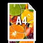 Ulotka promocyjna A4, kolor (30 gr/A4)