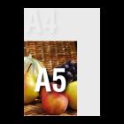 Zaproszenie A5 kolor dwustronnie