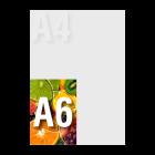 Zaproszenie A6 kolor dwustronnie