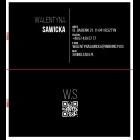 Wizytówka QR dwustronna 90x50 mm (wzór 2)