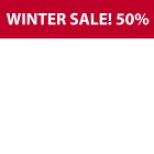 Naklejka WINTER SALE! 200x50 cm