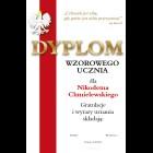 Dyplom Wzorowego ucznia wz.1
